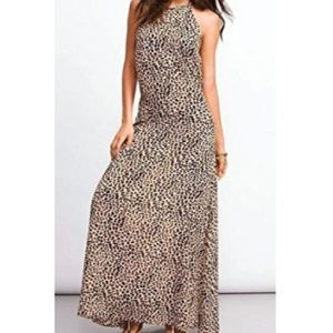 Victoria's Secret Leopard Halter Cover-up